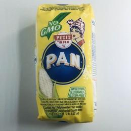 Farine de maïs blanc...