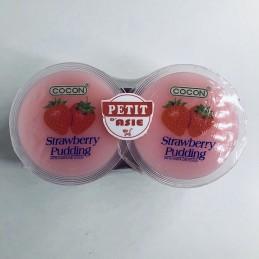 Pudding à la nata de coco...