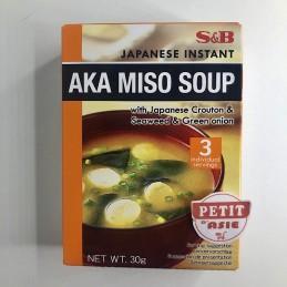 Soupe Miso instantanée...